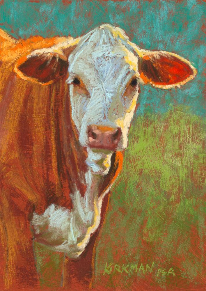 """Duncan"" original fine art by Rita Kirkman"