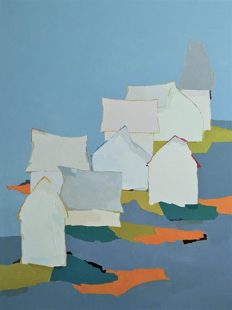 """""""Lost Horizon"""" original fine art by Donna Walker"""