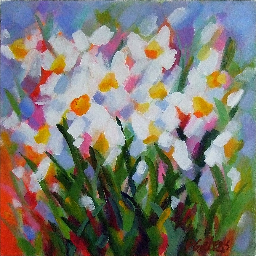 """Prism Petals"" original fine art by Pamela Gatens"