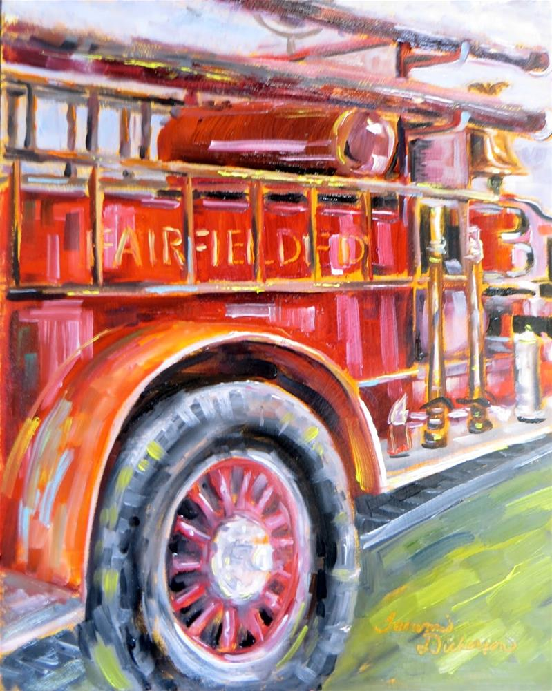 """Hometown Hero"" original fine art by Tammie Dickerson"