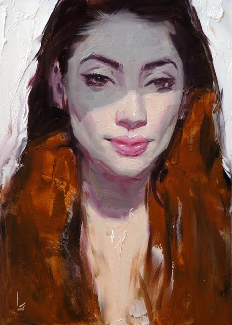 """A Shade Cooler"" original fine art by John Larriva"