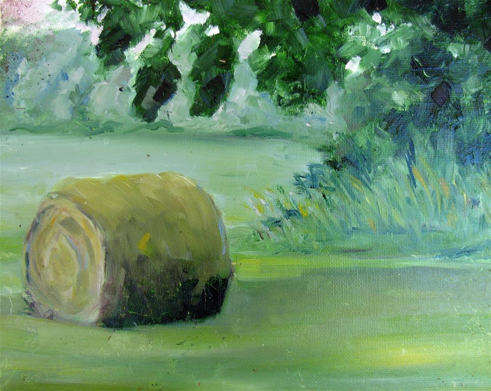"""Greene's Farm, Fairview"" original fine art by Susan Elizabeth Jones"