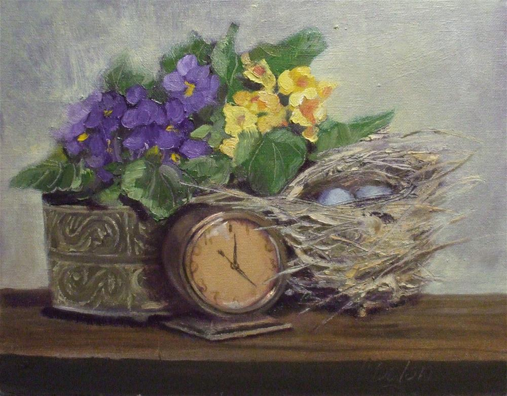 """Spring Is Coming"" original fine art by Cheryl Williams Dolan"