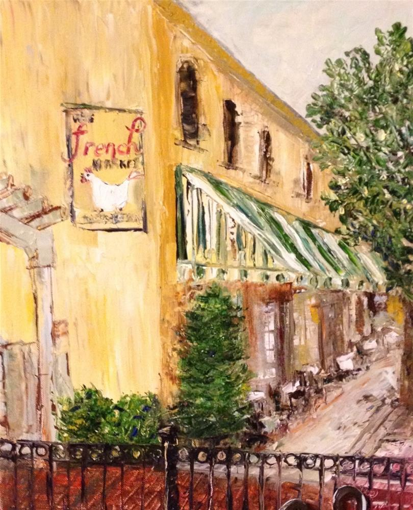 """French Market South Side"" original fine art by Elaine Ford"