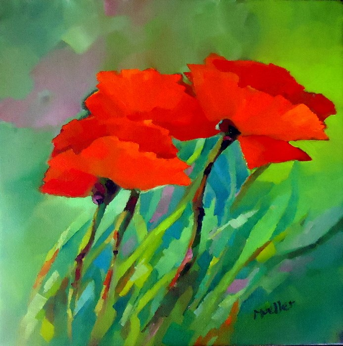 """Today"" original fine art by Laurie Mueller"