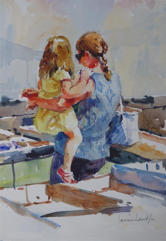 """""""Market Day"""" original fine art by Lorraine Lewitzka"""
