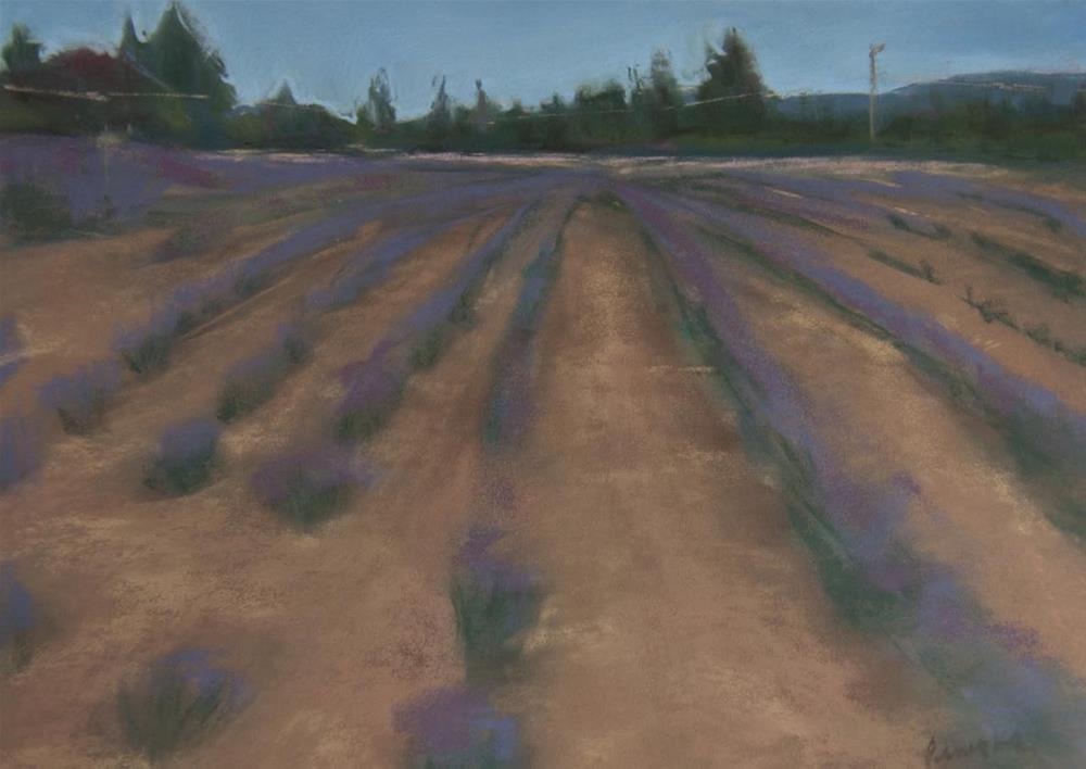 """Lavender Dream"" original fine art by Sarah Peroutka"
