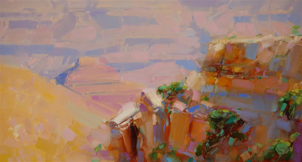 """Grand Canyon"" original fine art by V Yeremyan"