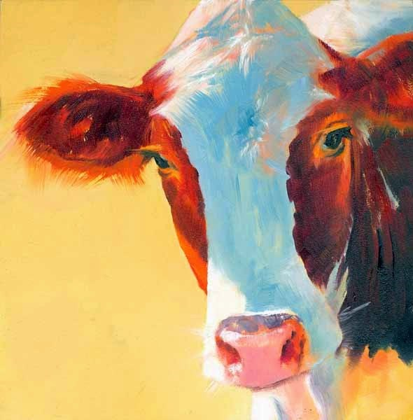 """Apart From the Herd"" original fine art by Brenda Ferguson"