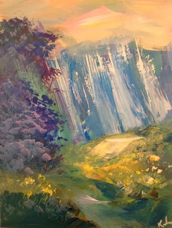 """""""In a Voice"""" original fine art by David Kuhn"""
