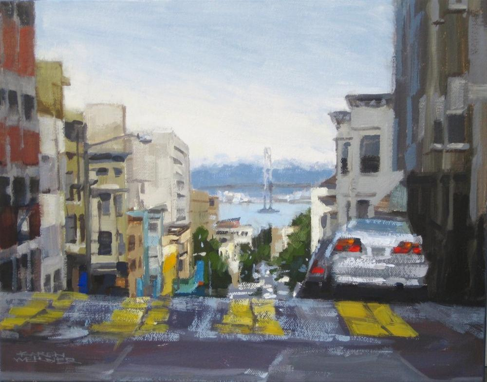"""High Bay View"" original fine art by Karen Werner"