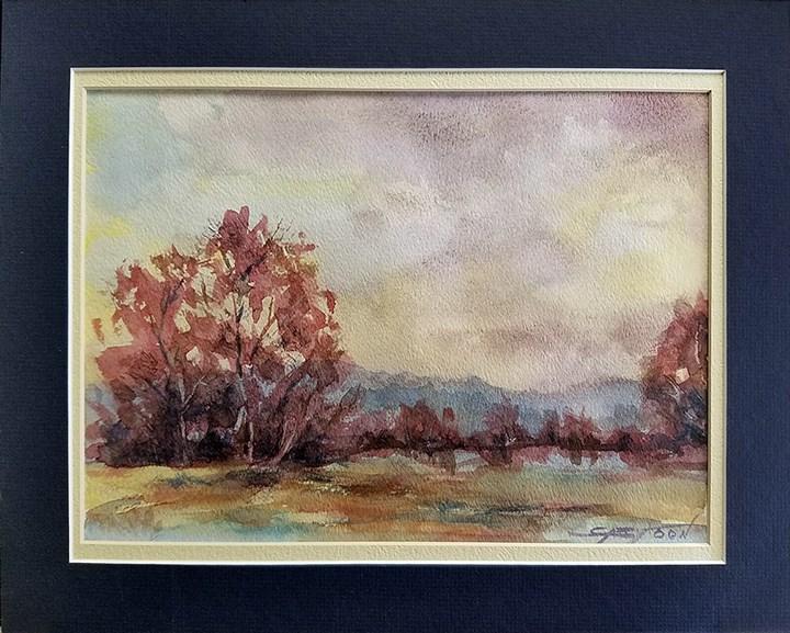 """Landscape"" original fine art by Gabriella DeLamater"