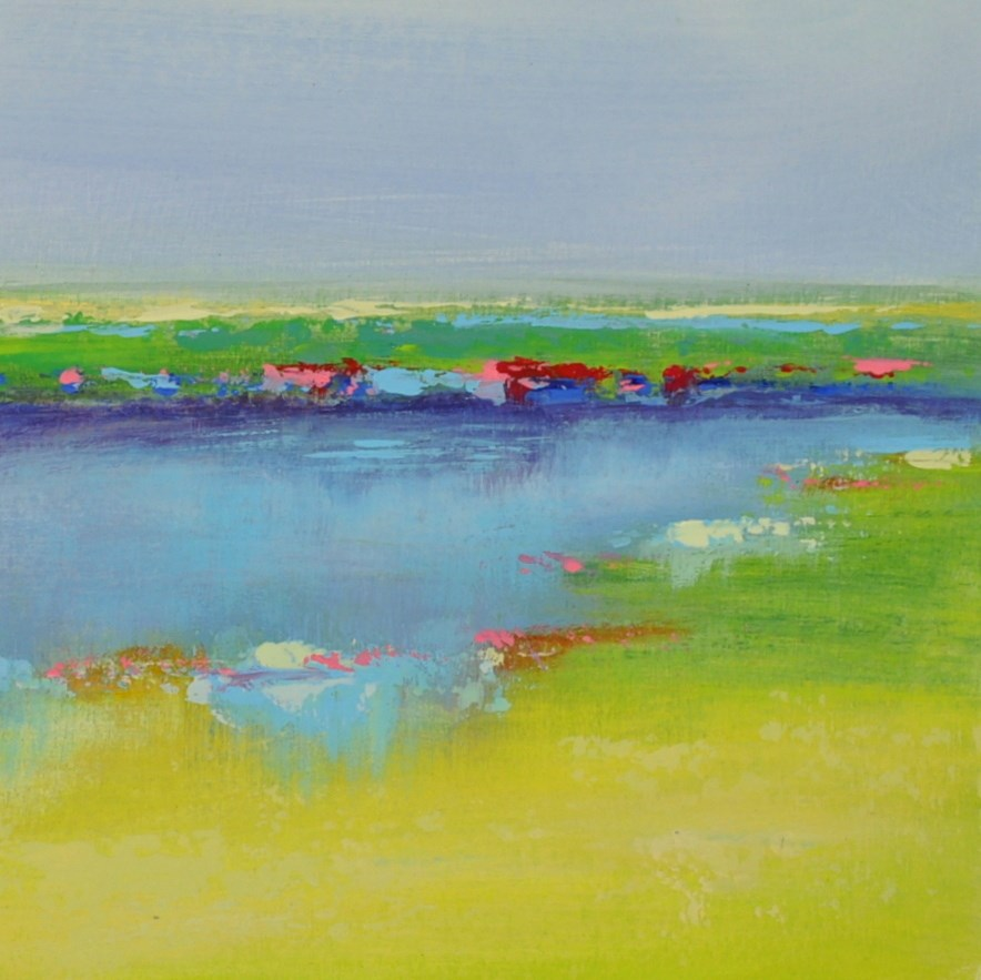 """Landscape 203"" original fine art by Ewa Kunicka"