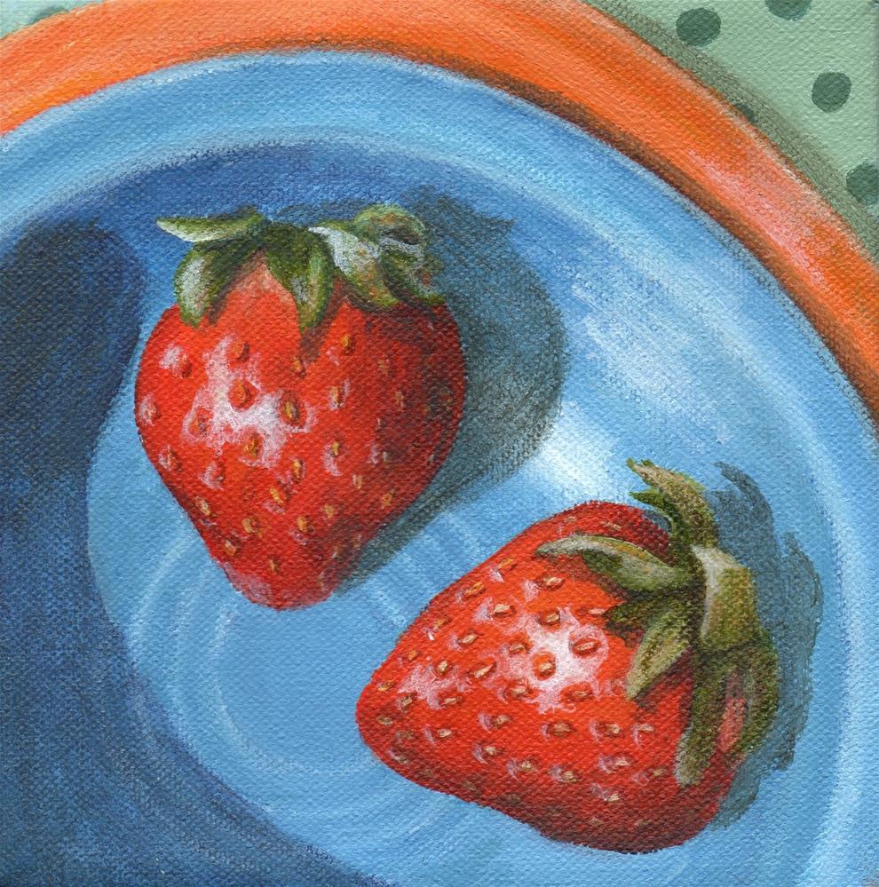 """By My Side"" original fine art by Debbie Shirley"