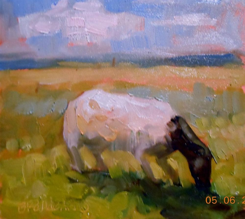 """New Field"" original fine art by Brande Arno"
