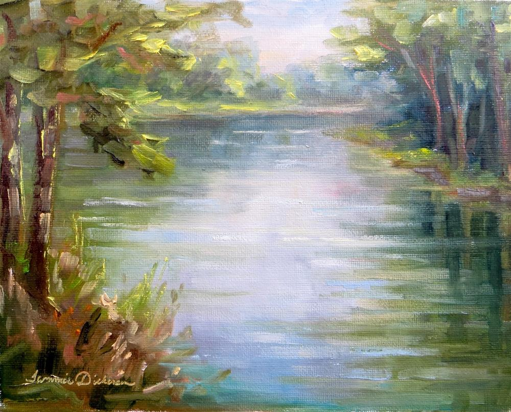 """Along the Portage"" original fine art by Tammie Dickerson"