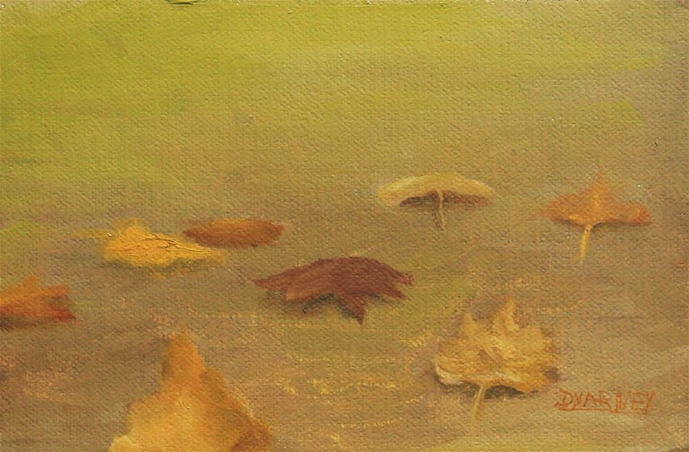 """Leaves"" original fine art by Daniel Varney"