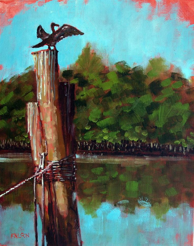 """In the Mangroves"" original fine art by Rick Nilson"