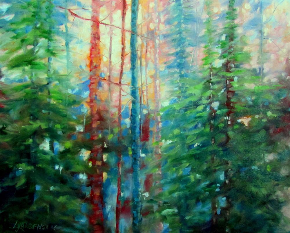 """20 x 24 inch oil"" original fine art by Linda Yurgensen"