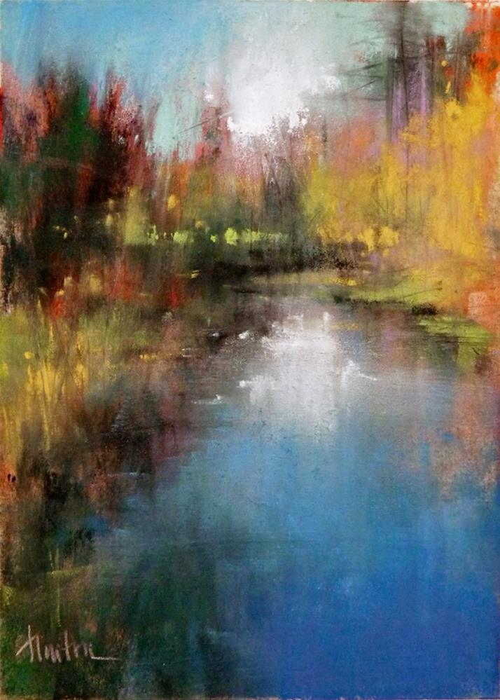 """Jenkins Creek"" original fine art by Barbara Benedetti Newton"