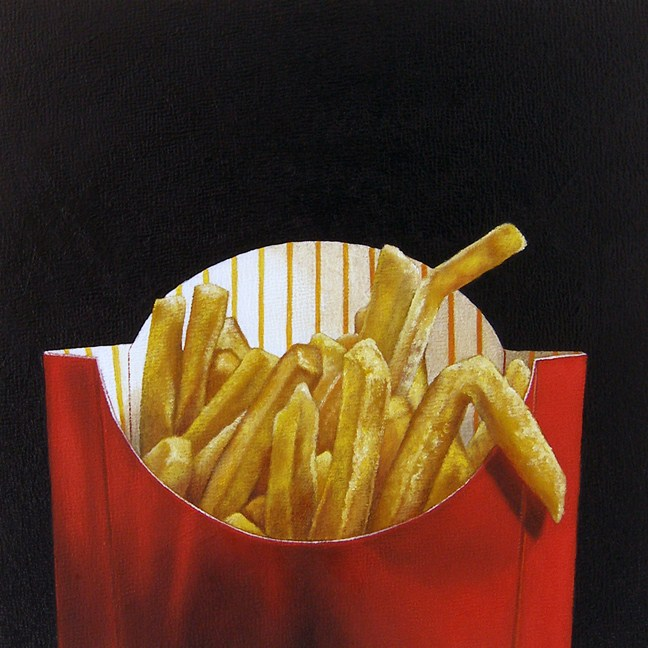 """Study: Super Sized"" original fine art by Jelaine Faunce"