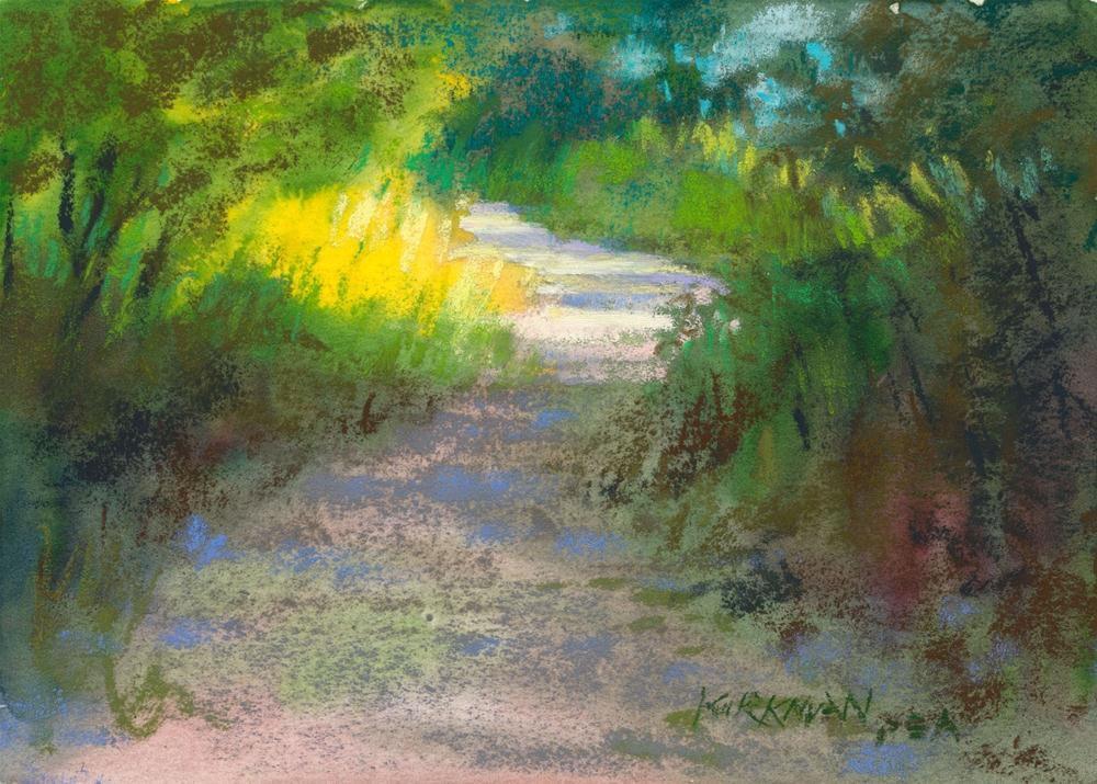 """Park Trail #16"" original fine art by Rita Kirkman"