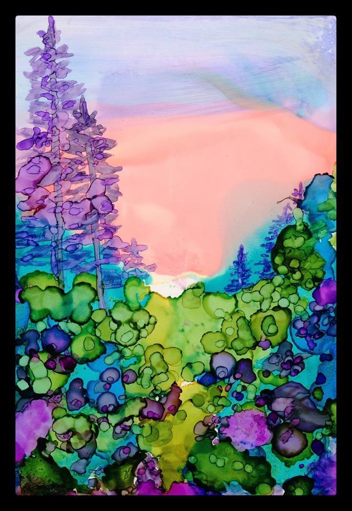 """Smoky Mountain Sunrise"" original fine art by Kelly Alge"