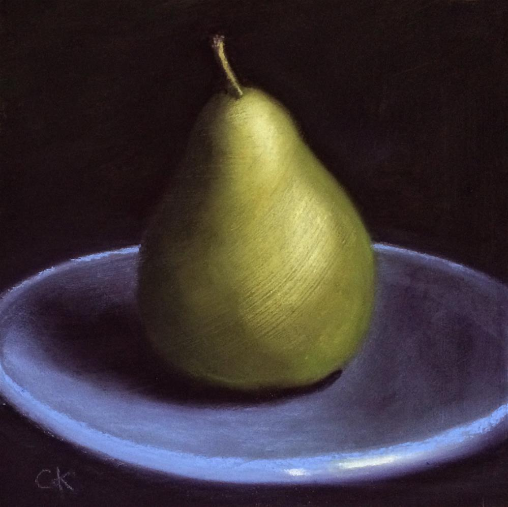 """It's A Pear"" original fine art by Cristine Kossow"