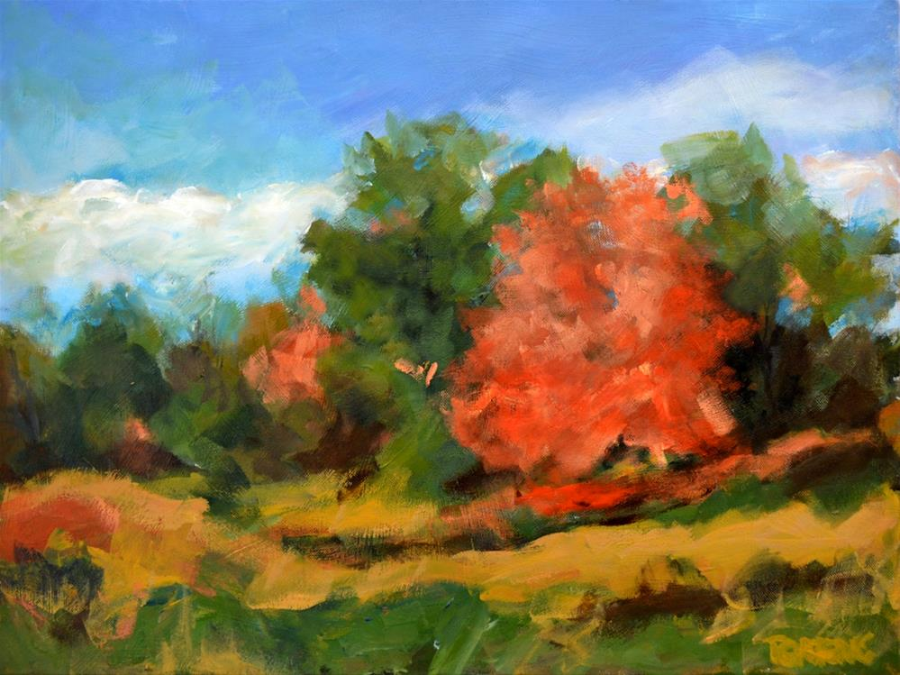 """Early Fall"" original fine art by Pamela Gatens"