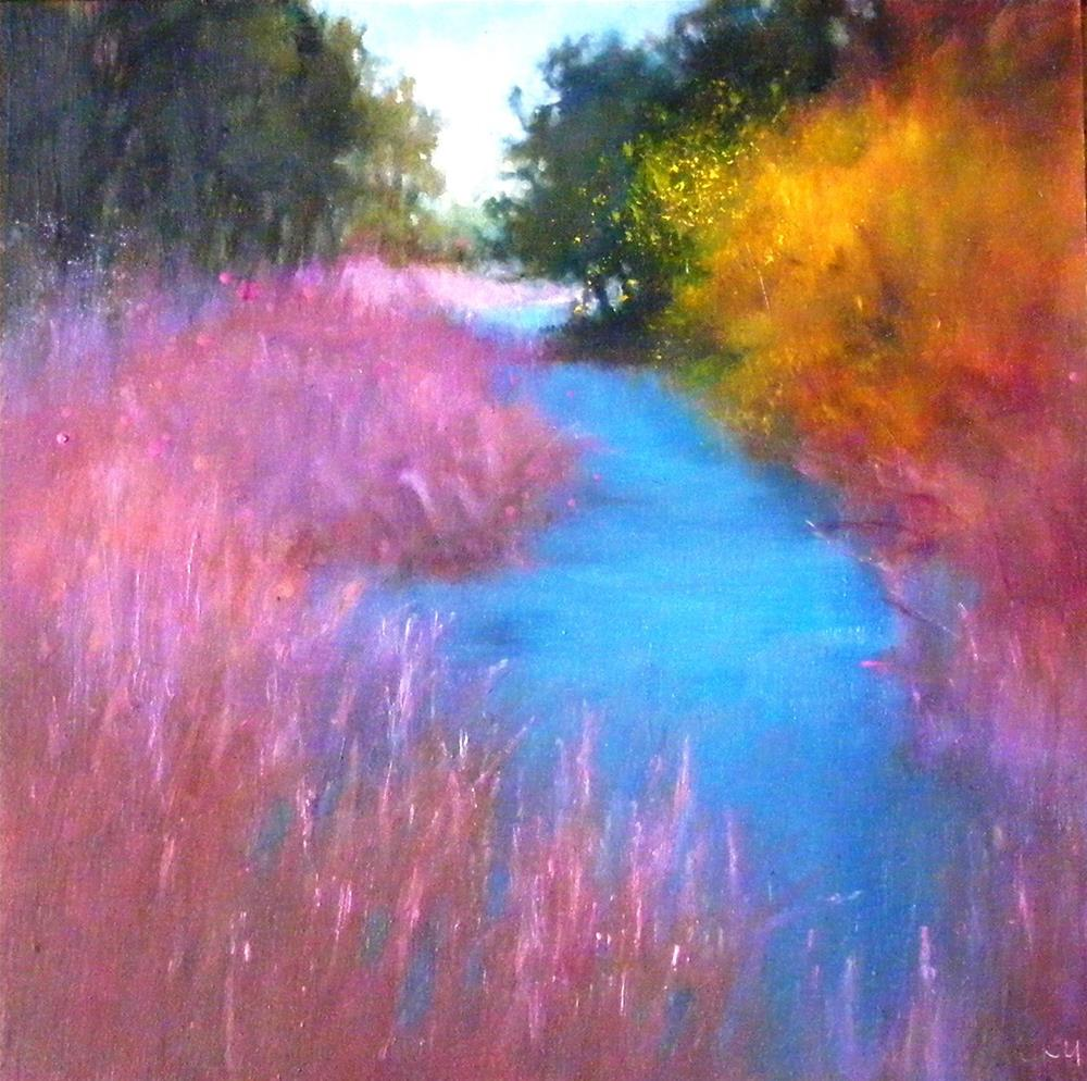 """Color of tommorrow"" original fine art by Celine K.  Yong"