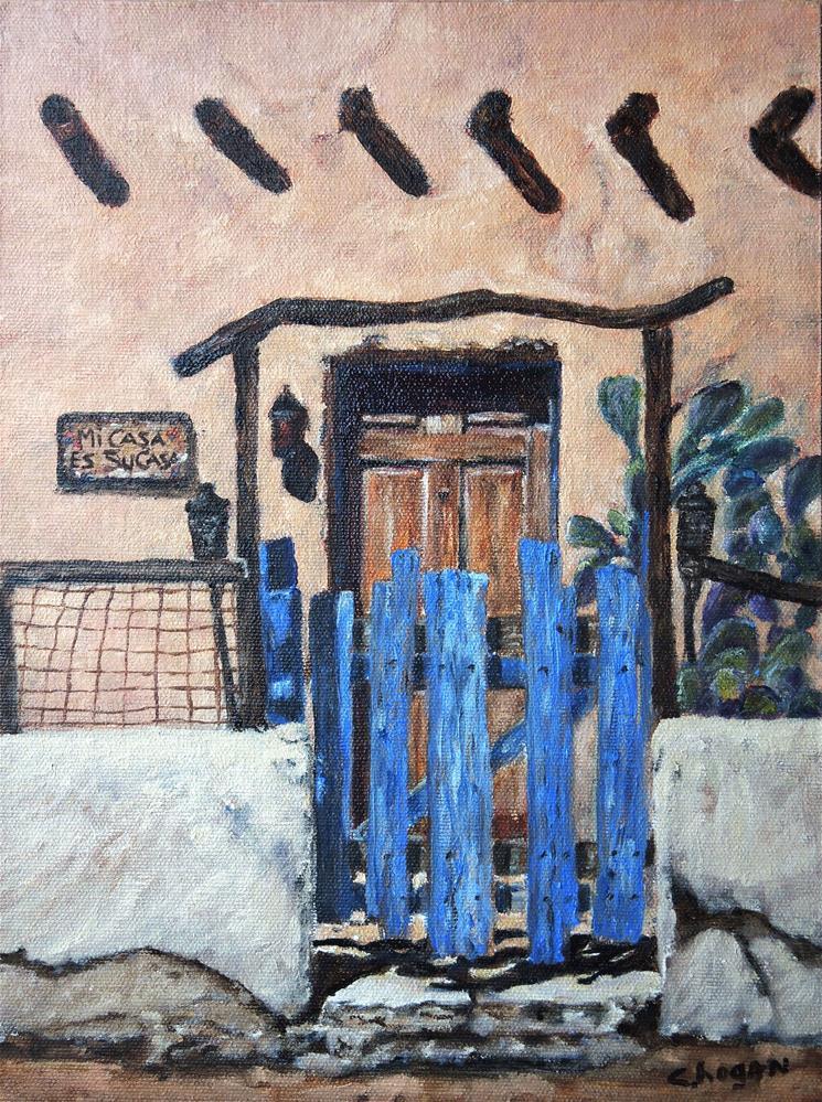 """""""Mi Casa Es Su Casa"""" original fine art by Candi Hogan"""