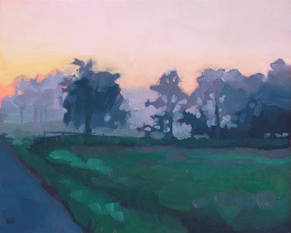 """""""Fog"""" original fine art by Heather Bullach"""