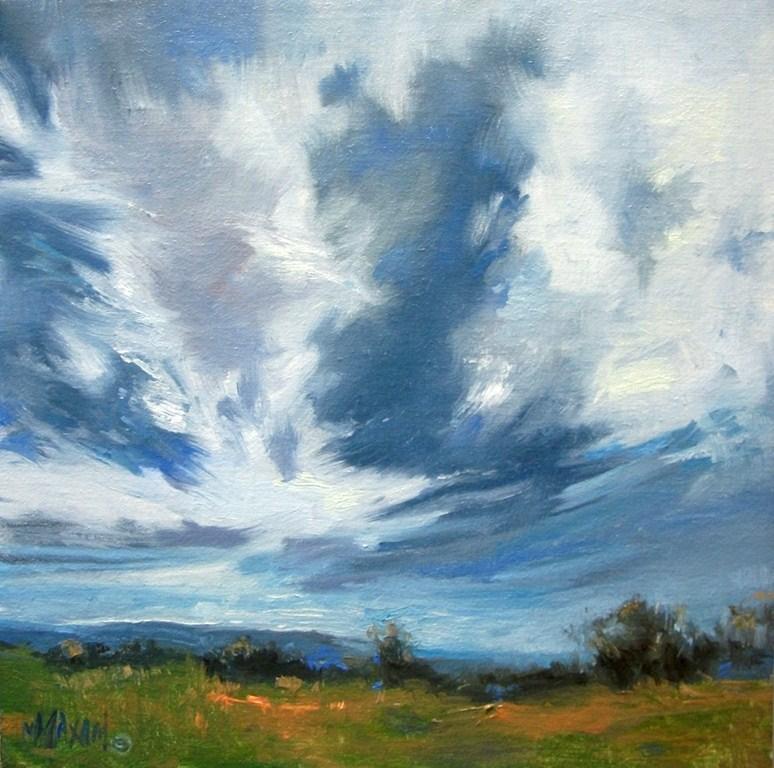 """New Day"" original fine art by Mary Maxam"