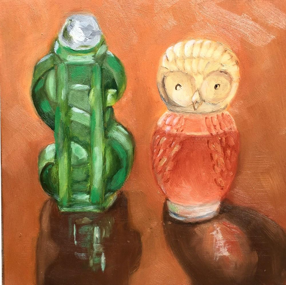 """Prosperity & Wisdom"" original fine art by Dicksie McDaniel"
