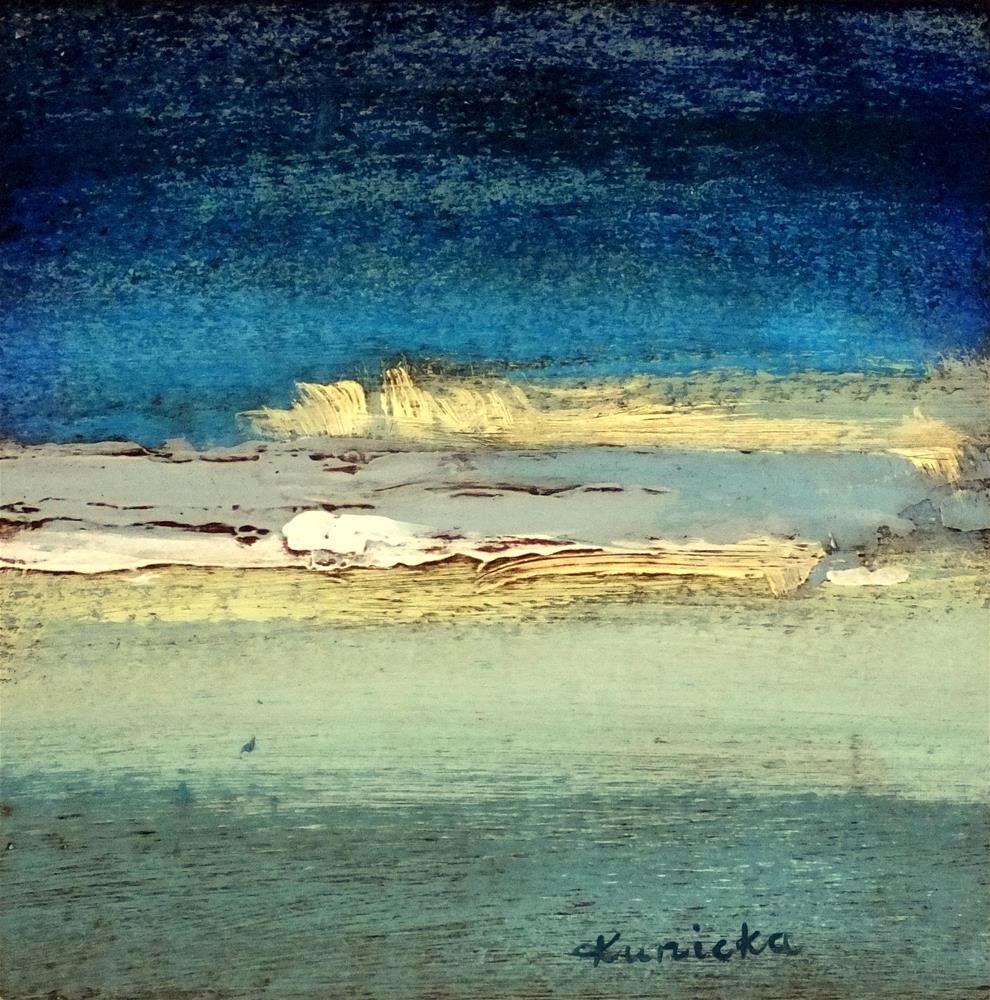 """Landscape 179"" original fine art by Ewa Kunicka"