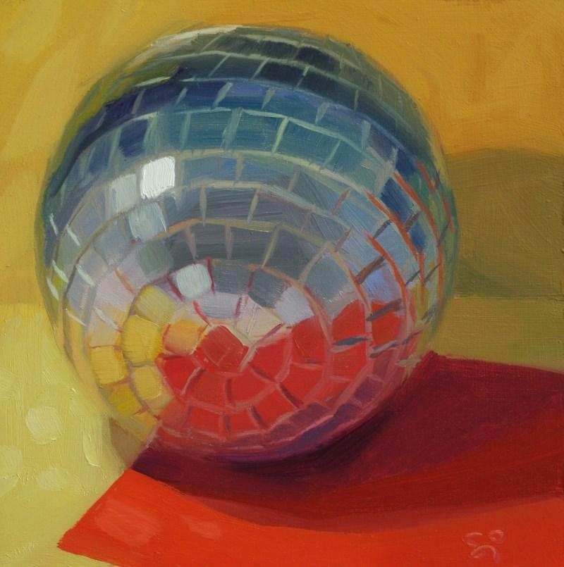 """""""Mosaic World 2"""" original fine art by Istvan Schaller"""