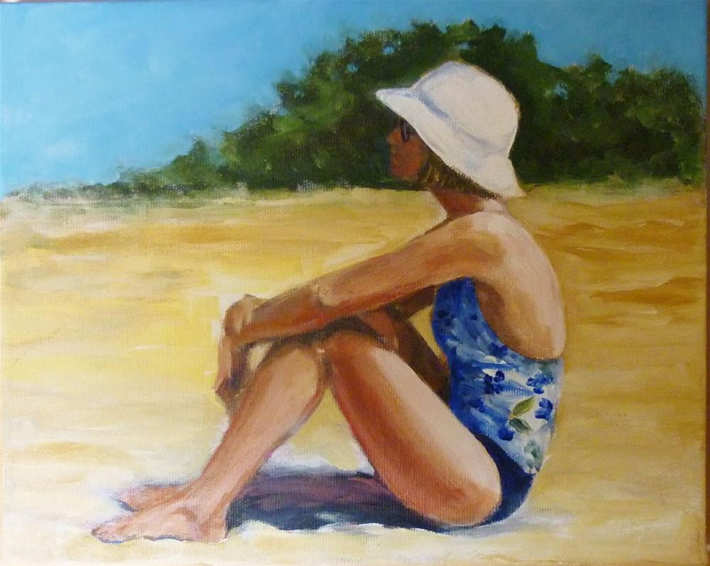 """Summer Solitude"" original fine art by Helene Adamson"