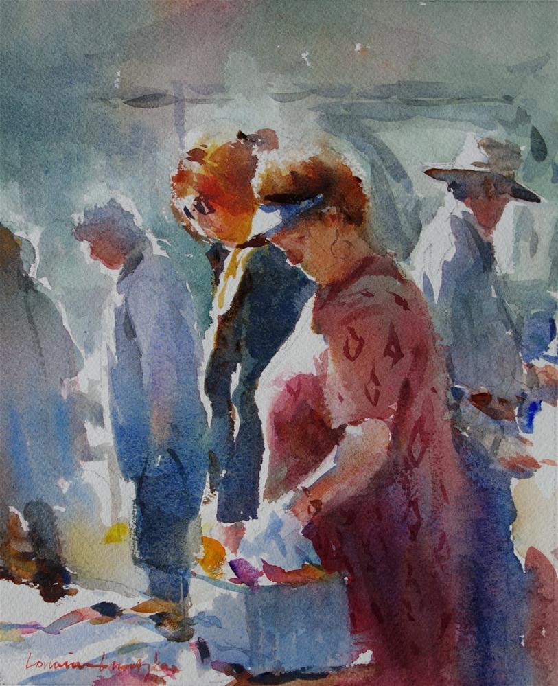 """Bits to Buy"" original fine art by Lorraine Lewitzka"