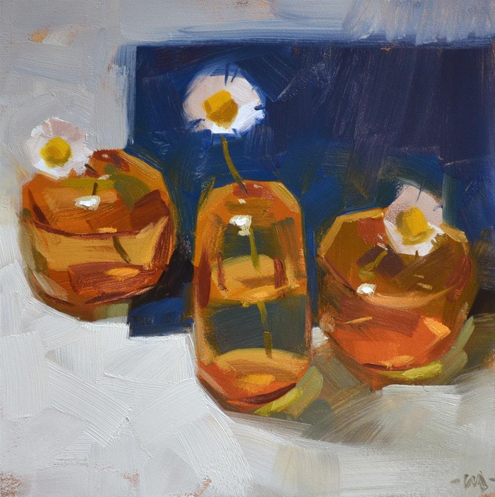 """""""Cute Times Three"""" original fine art by Carol Marine"""