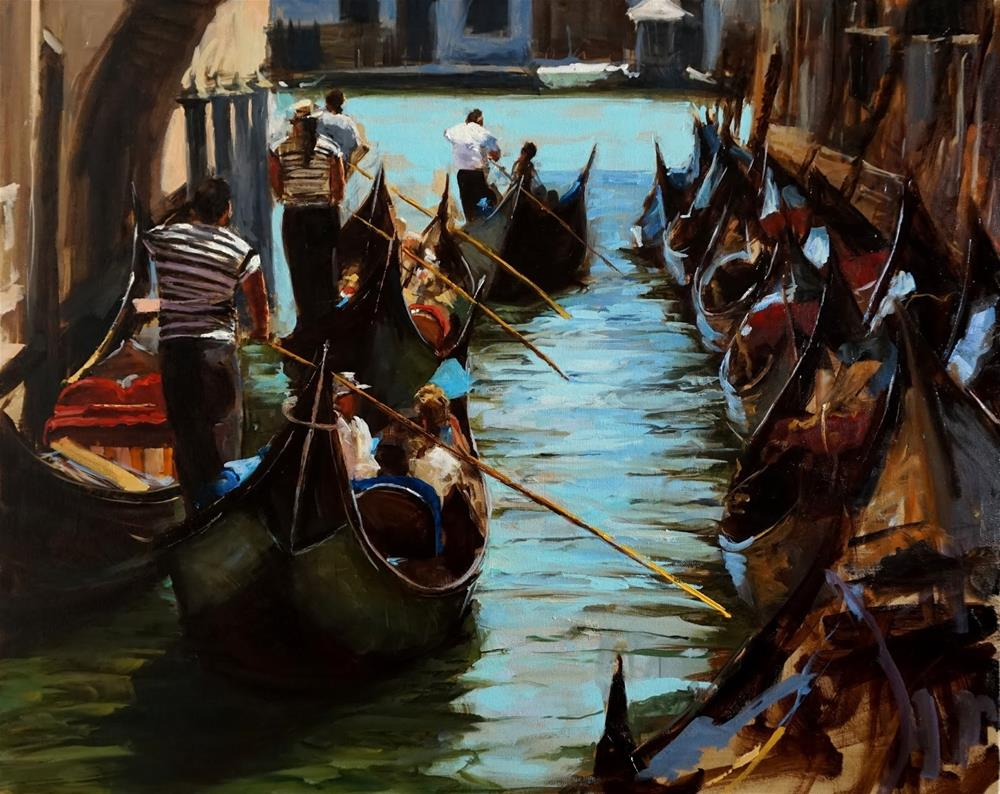 """Venetian Tour II"" original fine art by Jonelle Summerfield"