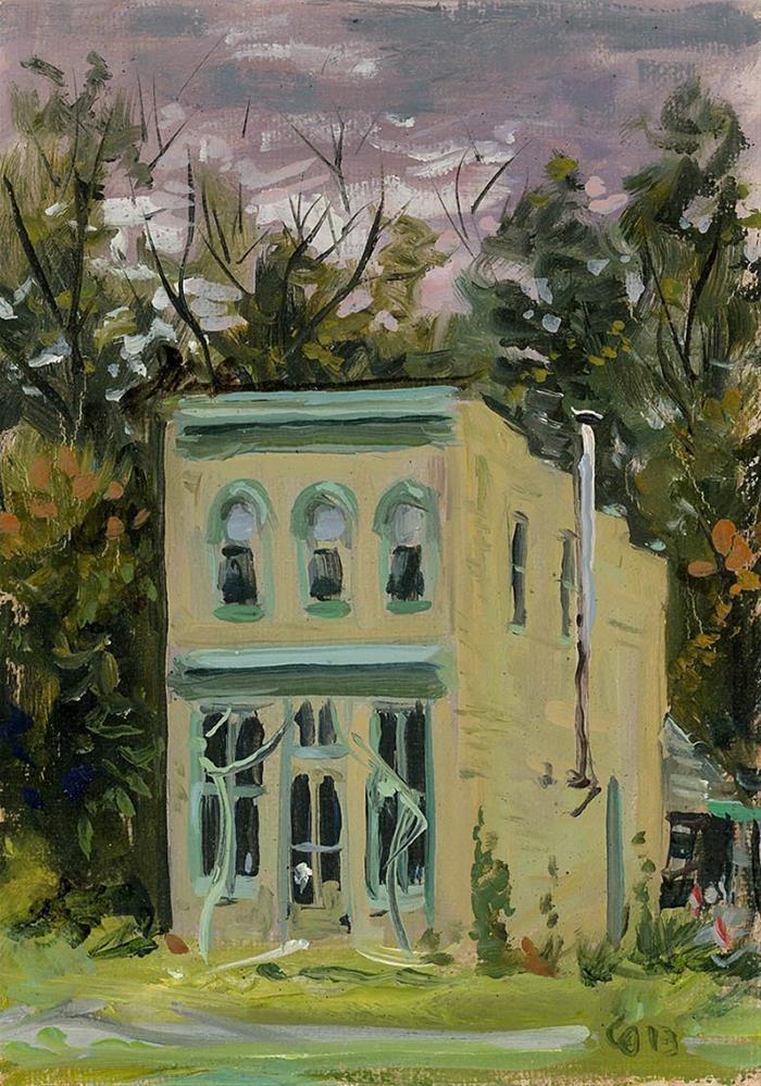"""""""Russ Faxon Studio in Bell Buckle TN"""" original fine art by Chris Ousley"""