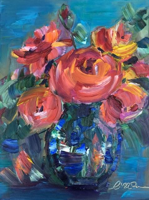 """Joy of Colors"" original fine art by Lisa Fu"