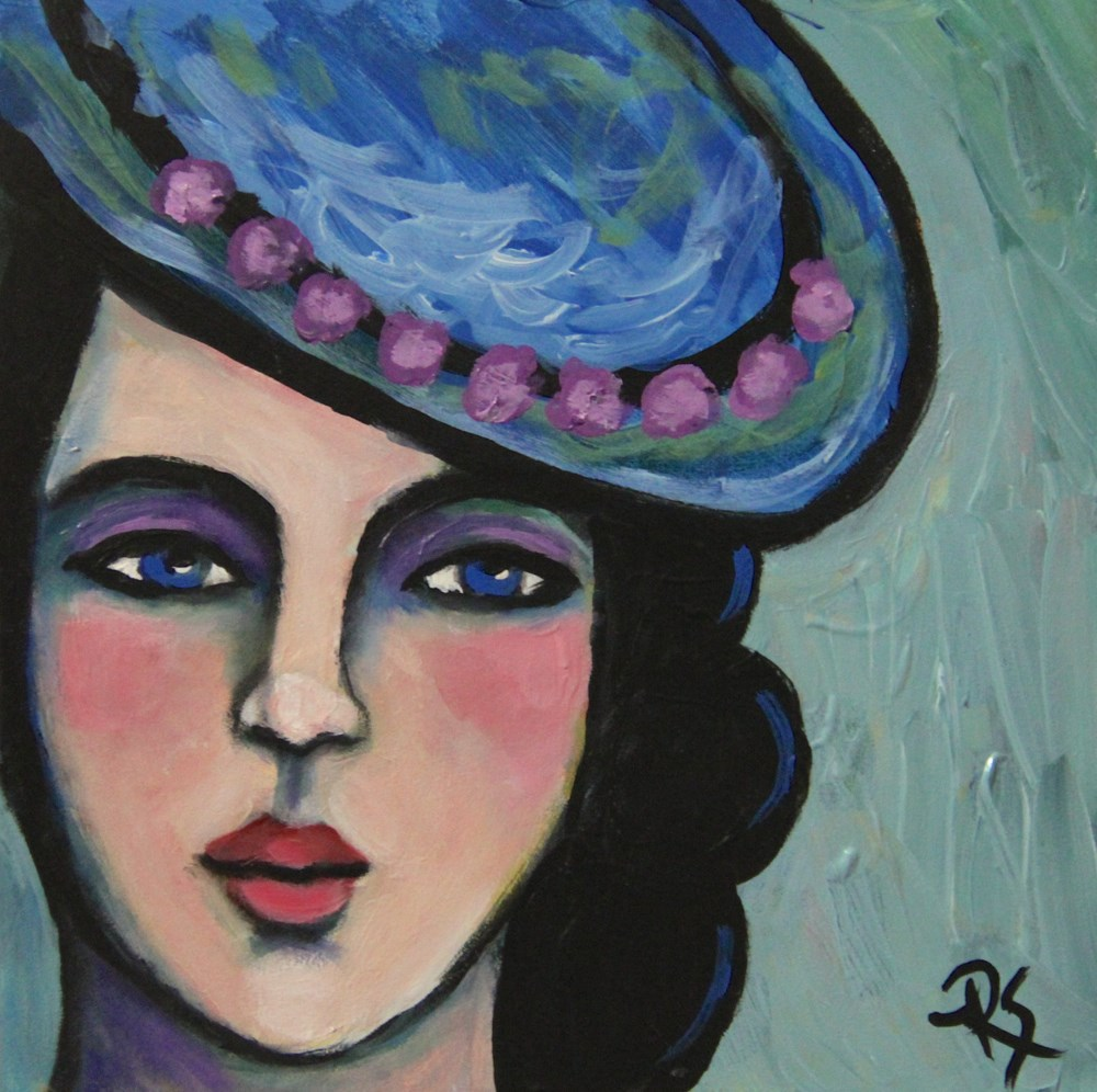 """Simone"" original fine art by Roberta Schmidt"