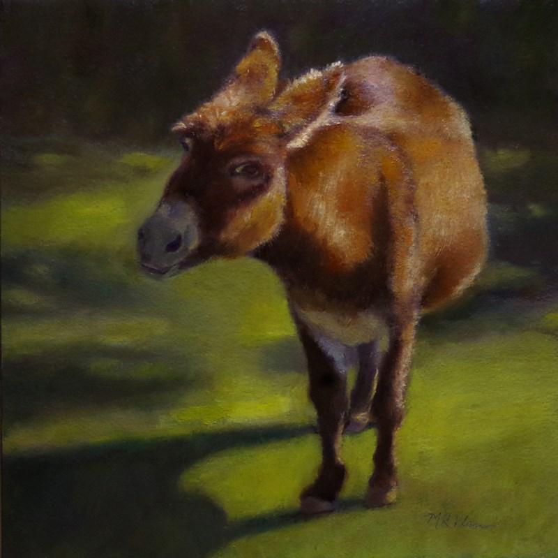 """""""Donkey Hodey - Framed"""" original fine art by Marilyn R. Place"""