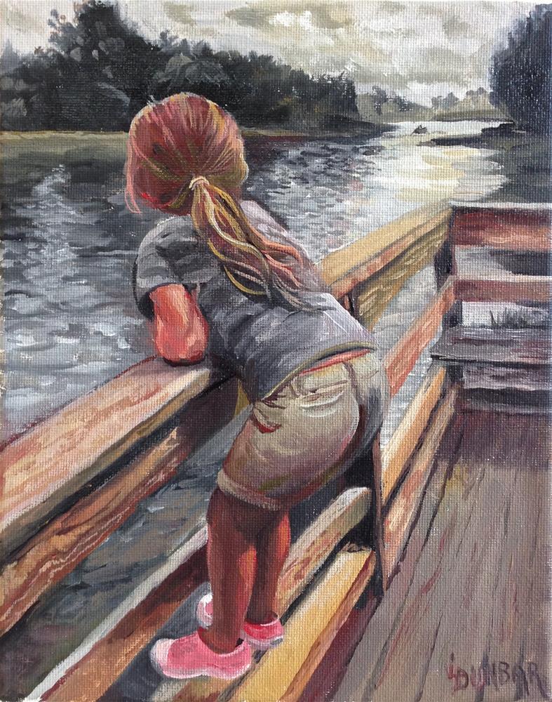 """Waiting and Watching"" original fine art by Linda Dunbar"