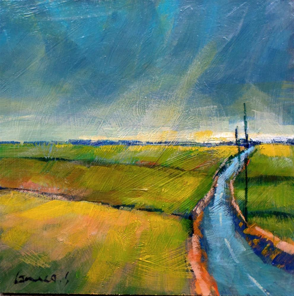 """FIELDS"" original fine art by salvatore greco"