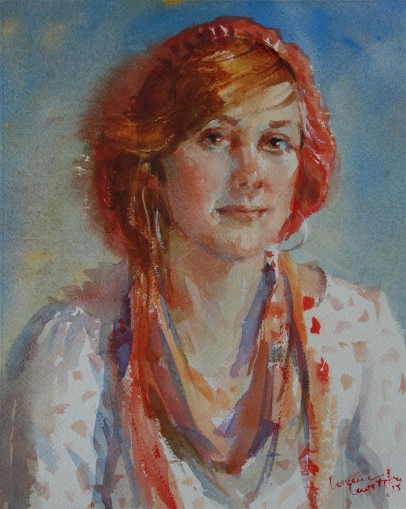 """Peace"" original fine art by Lorraine Lewitzka"