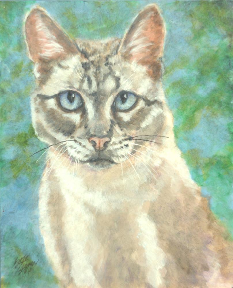 """""""Marissa"""" original fine art by Carla Ridener"""