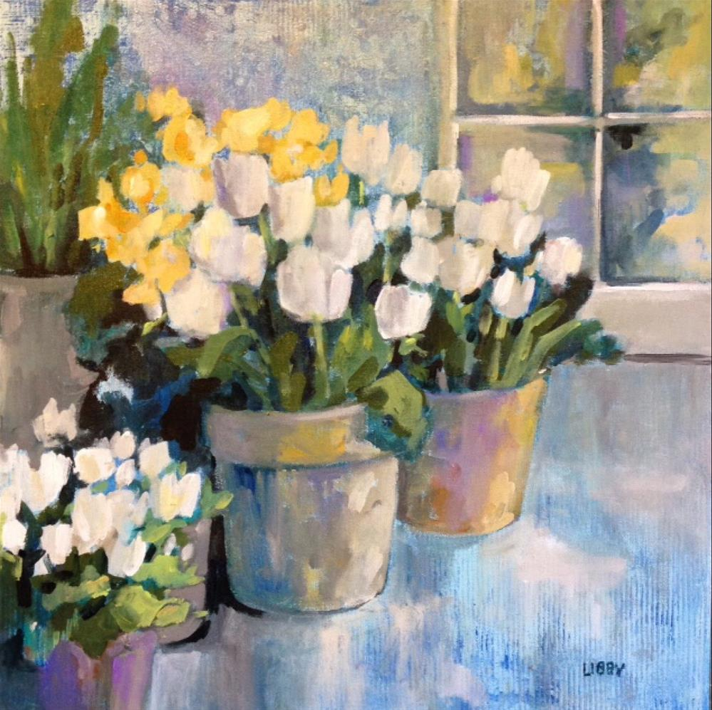 """Forever Tulips"" original fine art by Libby Anderson"