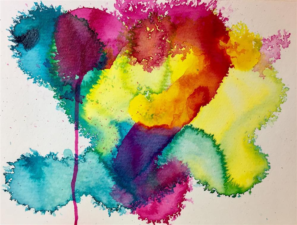 """#93 Love Yourself"" original fine art by Silke Powers"